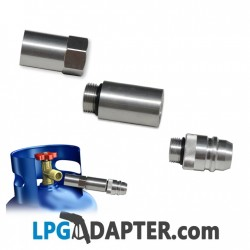 Spanish LPG gas bottle fill up kit
