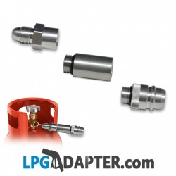 UK LPG gas bottle filling adapter for Spain