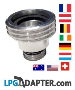 acme adapter LPG Autogas Propane Germany