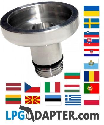 Dish type Lpg Autogas propane adapter