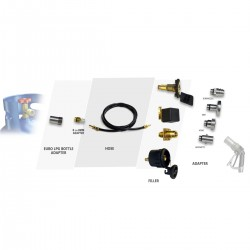 euro bottle lpg cylinder refilling kit