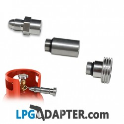 POL to Acme Propane bottle filling lpg autogas adapter