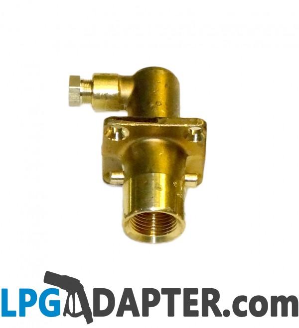 UK Bayonet LPG Filling Point Filler to Calor Gas NORWAY Bottle Adapter ADAPTOR s